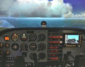 Flugsimulator - Cessna 172 - 30 Minuten Cessna 172 - 30 Minuten