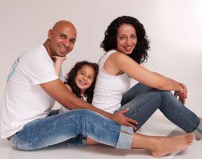Familien-Fotoshooting inkl. 1 Print & 2 Bilder digital, ca. 1 Stunde