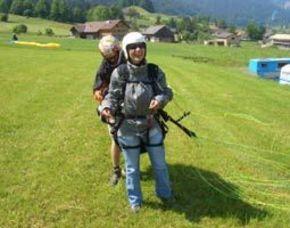 Gleitschirm-Tandemflug Niedere Andelsbuch Niedere - ca. 120 Minuten