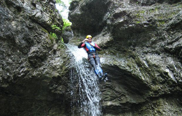 canyoning-tour-bad-reichenhall-action