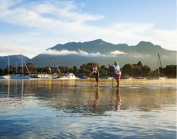 Stand up paddling - Schnupperkurs - Chieming Chiemsee, Schnupperkurs - ca. 2 Stunden