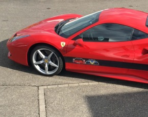 Ferrari fahren 6 km Ferrari 488 GTB – Bergstrecke – 6 km