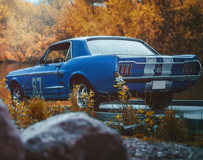 FordMustang Oldtimer fahren Sylt Ford Mustang Oldtimer - 5 Stunden