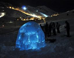 Iglu bauen mit Übernachtung inkl.Snowgolf,Frisbee und Iglu-Übernachtung - 2 Tage