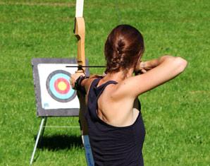 Bogenschießen inkl. Lasergewehr-Schießen - 1,5 Stunden