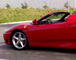 Ferrari selber fahren - Ferrari F360 Spider - 40 Minuten- Knüllwald Ferrari F360 Spider - Ca. 40 Minuten