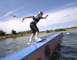 Wasserski fahren in Heede oder Wakeboarden, Heeder See - 1 Tag
