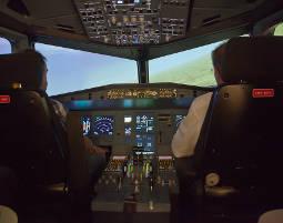 Flugsimulator - Airbus A320 Airbus A320 - 90 Minuten