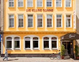 Europas schönste Städte für Zwei Hotel Die kleine Sonne
