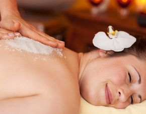 Erlebnis buchen Peeling Massage   blauer-urlaub.de