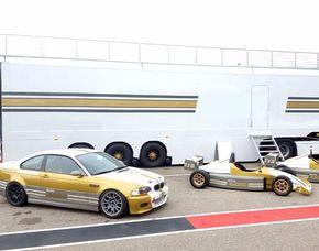 Tourenwagen fahren - 4 Runden - Sachsenring BMW M3 Rennauto -  Sachsenring - 4 Runden