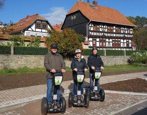 """Segway Tour """"Drei Gleichen"""" Bratwurst - Amt Wachsenburg Bratwurst-Erlebnistour – 3 Stunden"""