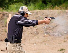 Schießtraining - Großkaliber - Hollern-Twielenfleth Schießtraining mit Großkalibern - 3 Stunden