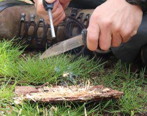 Survival Training - Blaubeuren Feuermachen, Heilkräuter- und Naturkunde, Abseilen