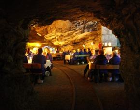 Dinner mal anders Dinner im Bergwerk, 3-Gänge-Menü, inkl. Getränke