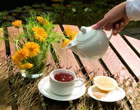 Frühstück Frühstücksbuffet, inkl. Heißgetränke, Säfte & Wasser (kein Brunch)