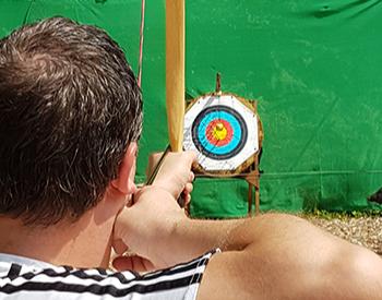 Bogenschießen 2 Stunden Intuitives Bogenschießen - 2 Stunden