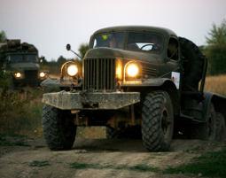 Truck offroad fahren russischer Truck - 60 Minuten