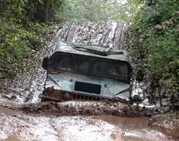 Hummer offroad fahren Fürstenau