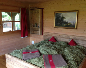 Kuschelwochenende (Voyage d´Amour für Zwei) Heuhotel Schleifmühle - 3-Gänge-Menü