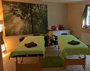 Ayurveda Massage Fußbad, Wärmebehandlung