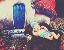 kinder-fotoshooting-niederwinkling-baby-im-schlumpfland