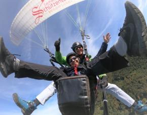 Gleitschirm-Tandemflug Bischling Werfenweng - ca. 120-180 Minuten