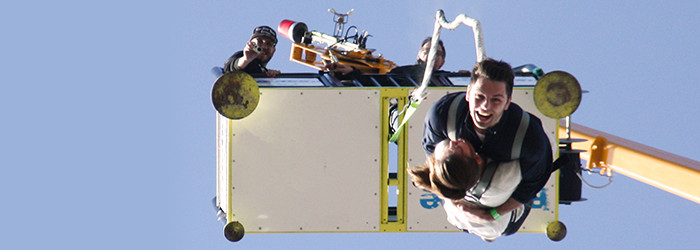 Tandem-Bungee Jumping für Zwei