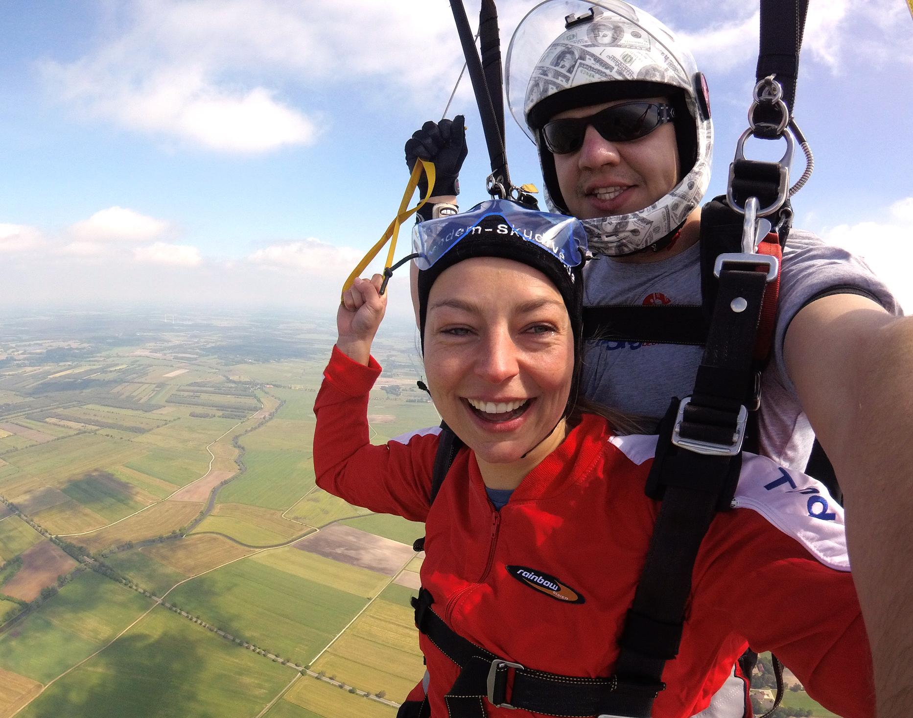 Fallschirm Tandemsprung - Kührstedt Sprung aus ca. 3.000-4.000 Metern - ca. 25-50 Sekunden freier Fall