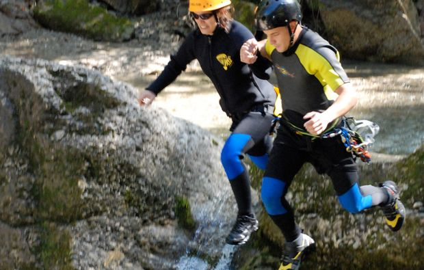 canyoning-tour-immenstadt-sprung