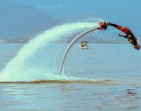 Flyboarden Ispra, Lago Maggiore