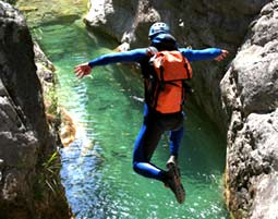 Canyoning Ca. 6 Stunden