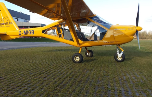 ultraleichtflugzeug-rundflug-tirschenreuth-action