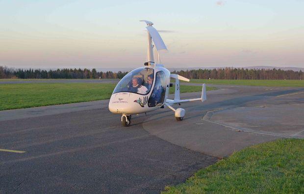 tragschrauber-rundflug-grossostheim-maschine