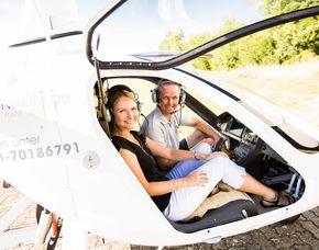 Tragschrauber-Rundflug - 45 Minuten in einem geschlossenen Tragschrauber - 30 Minuten