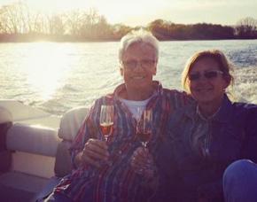 Romantische Bootstour für zwei - Gernsheim Rhein, inkl. Sekt - ca. 1 Stunde
