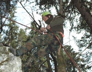Klettergurt Abseilen : Klettern abseilen