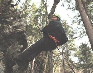 Klettergurt Abseilen : Abseilen an der felswand in schneizlreuth raum rosenheim
