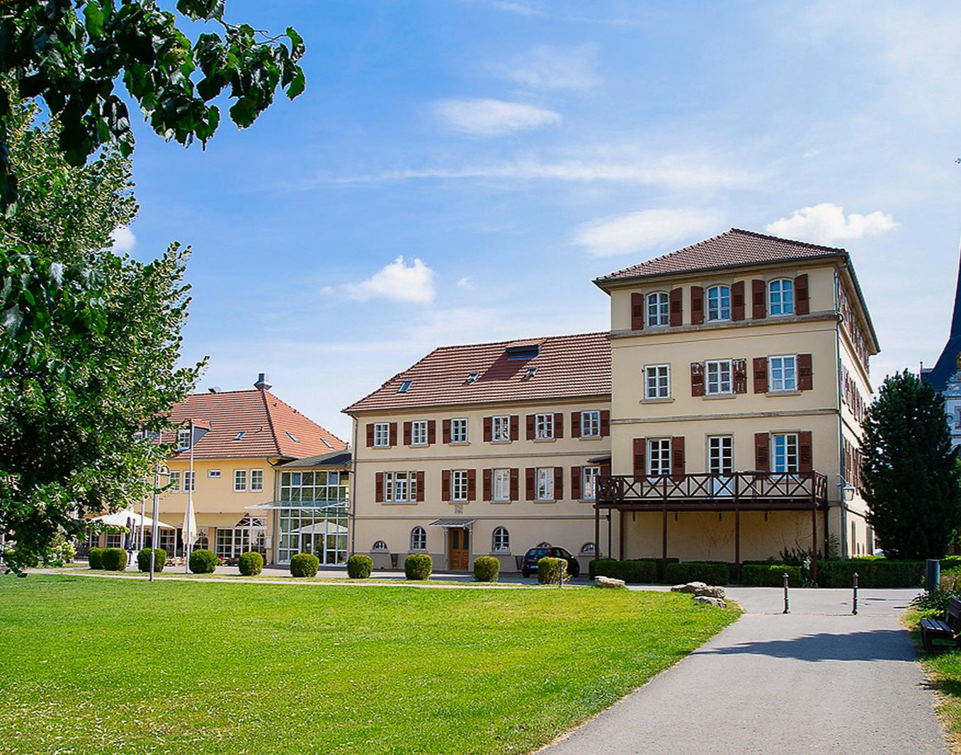 Schlosshotel in Neckarbischofsheim Schlosshotel Neckarbischofsheim - 3-Gänge-Menü