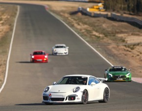 Rennstreckentraining Porsche GT3 Clubsport - Oschersleben Porsche GT3 Clubsport - 1 Einführungsrunde, 4 Runden selber fahren - Oschersleben