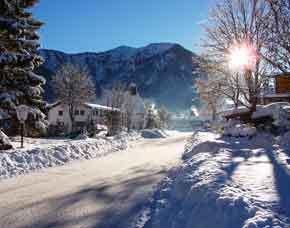 Schneeschuhwanderung - ca. 5 Stunden Wanderung am Sylvensteinsee - ca. 5 Stunden
