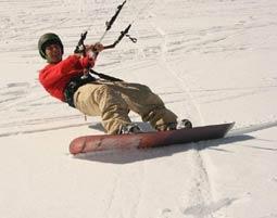 Snowkite Grundkurs Feldberg Tageskurs - ca. 5 Stunden