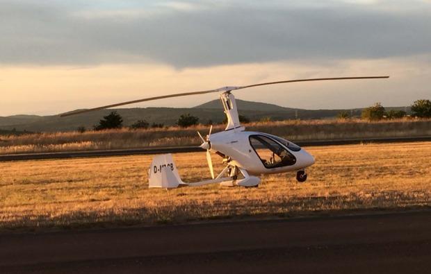 tragschrauber-rundflug-giessen-landung