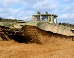 Bild Panzer fahren - Bewege Tonnen von Stahl durch das Gelände