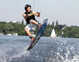 Wakeboarden - Templiner See Potsdam Templiner See -  ca. 1 Stunde