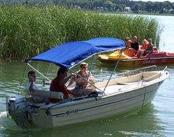 motorboot-fahren