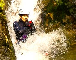Canyoning-Tour Sand in Taufers