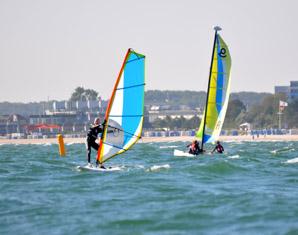 Windsurf-Schnupperkurs - Minikurs Ostsee - ca. 6 Stunden