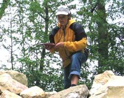 Geocaching-Tour Rechtenstein 4,5 Stunden