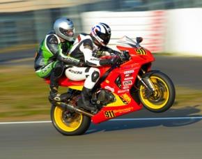Motorrad-Renntaxi Hockenheimring
